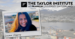 Taylor Institute second Long-Life Learning Scholar Luciana Vazquez