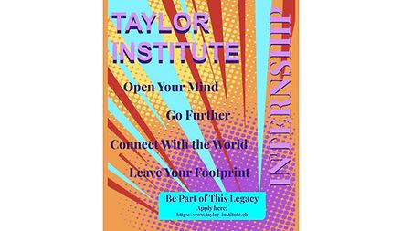 Taylor Institute Internship