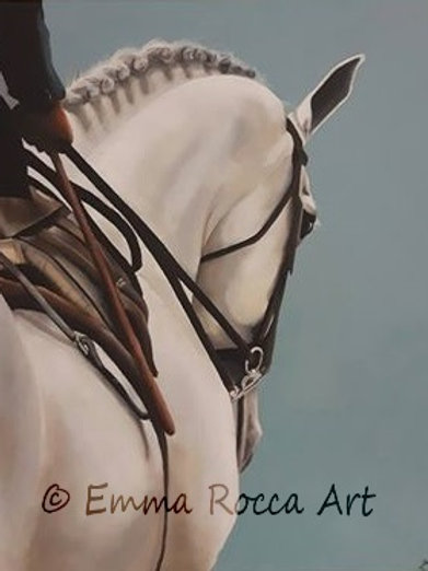 Sidesaddle Limited Edition Fine Art Giclee Print - 30 x 40 cm