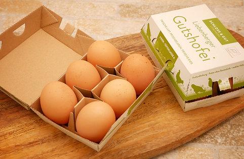 6er Pack Liebenberger Bio - Freiland Eier