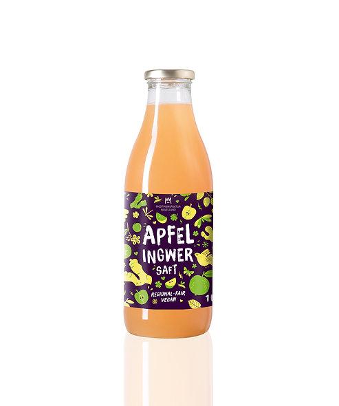 Apfel-Ingwer Saft