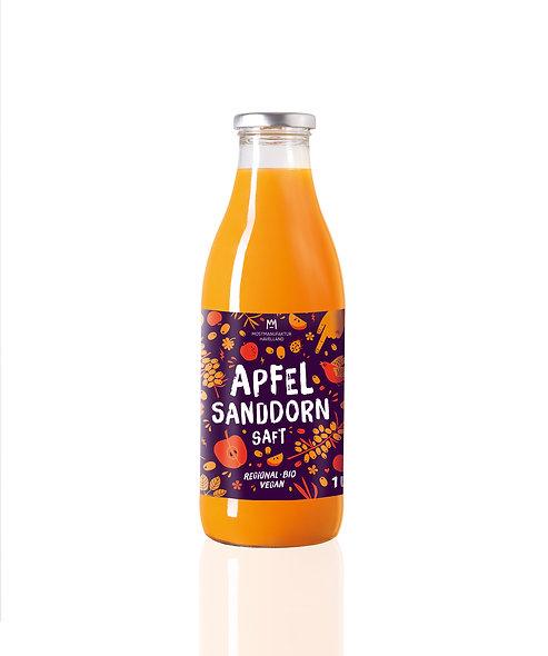 Apfel-Sanddorn Saft
