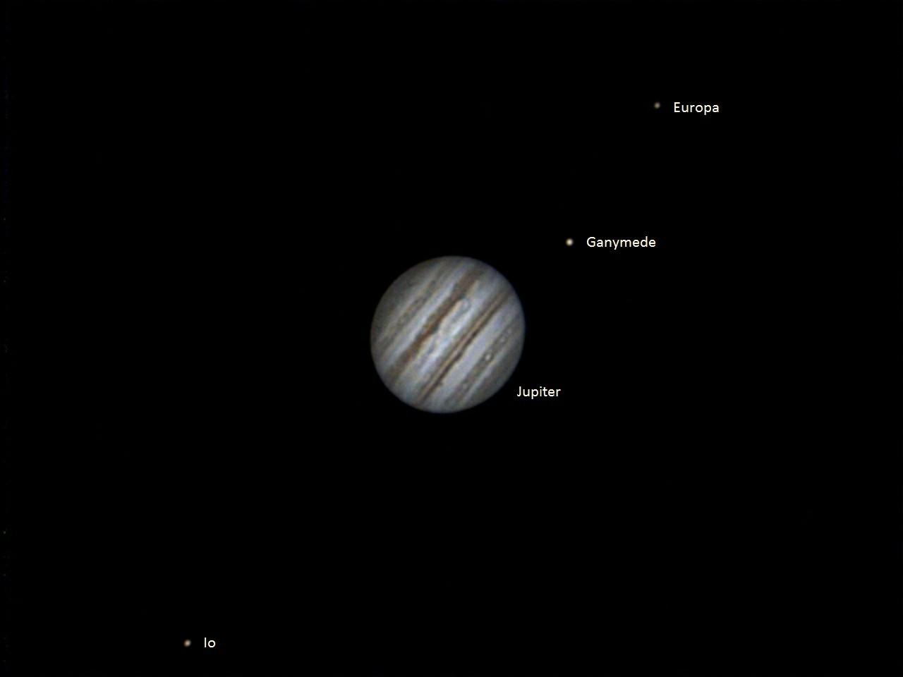 Io Jupiter Ganymede Europa