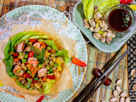 新鲜开心果 烹饪健康美食