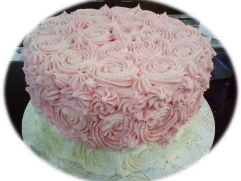 Shower Tea Roses [Pink or Blue}
