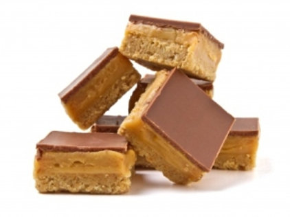 Caramel Slice Large