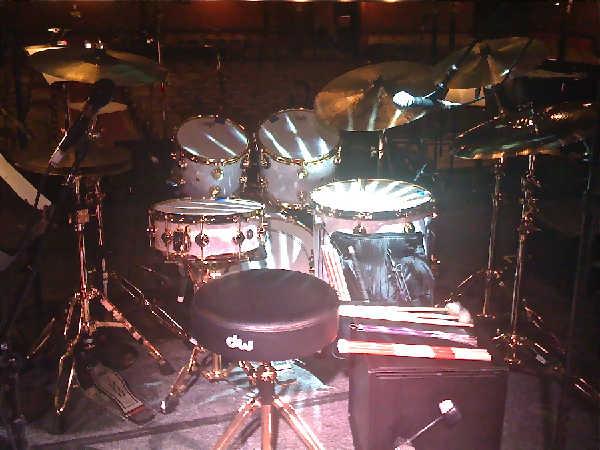 Van Morrison Drum Kit - Massey Hall