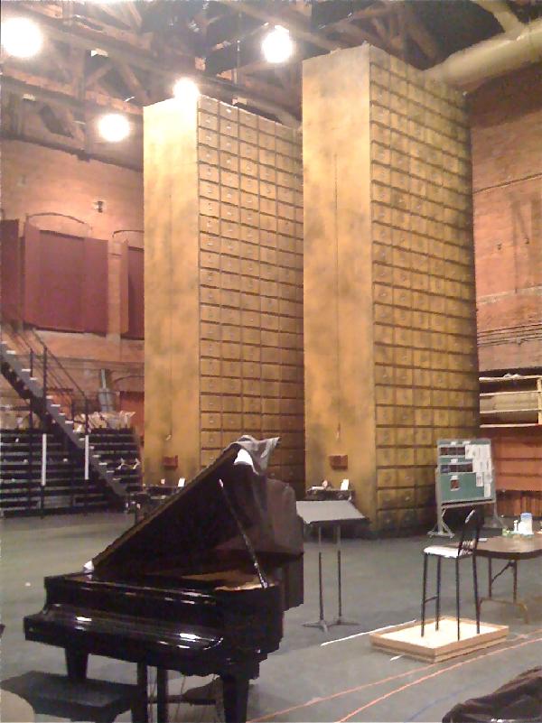 Rehearsal - Canadian Opera