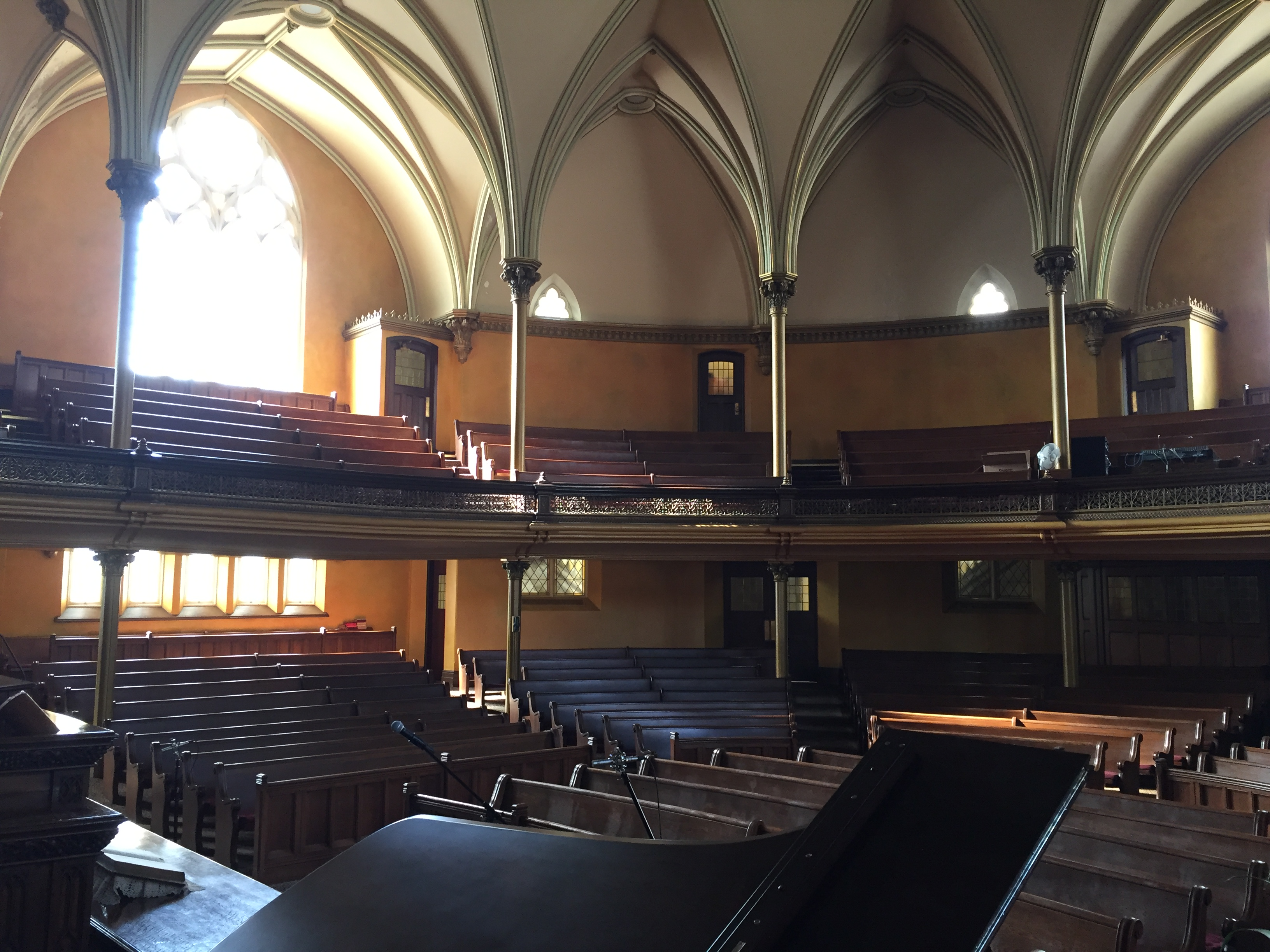 View of the hall