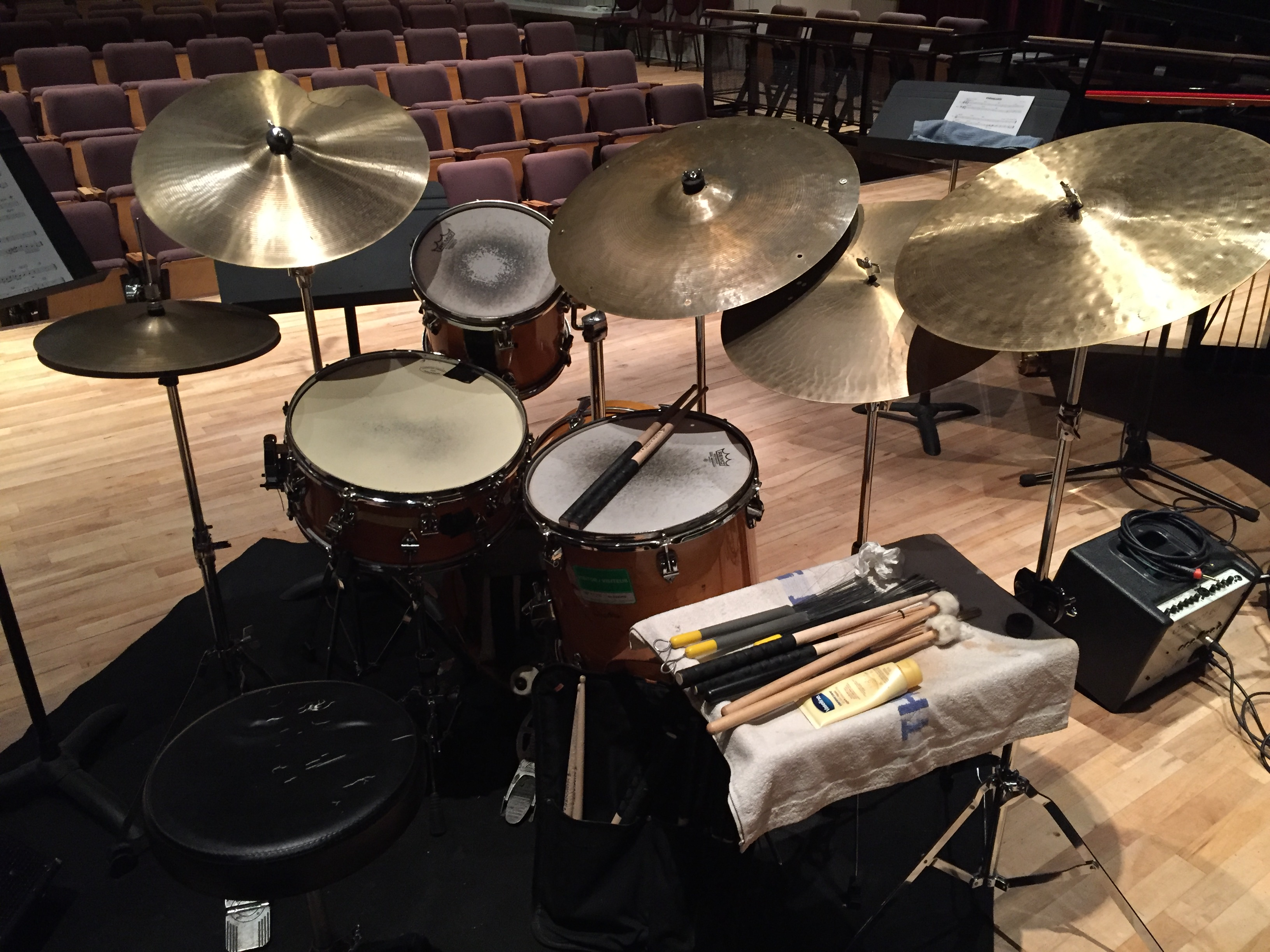 Drums - Stockey Centre