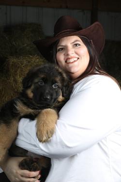 Long coat German shepherd Puppy's