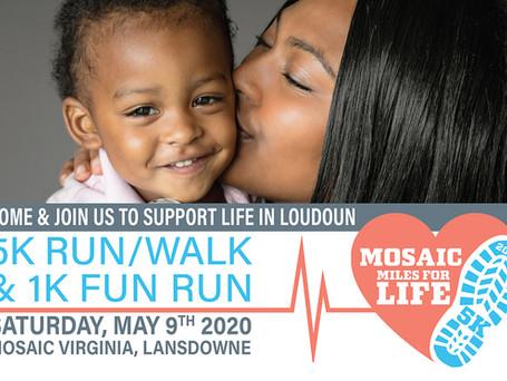 Mosaic Mile for Life 2020 postcard FINAL