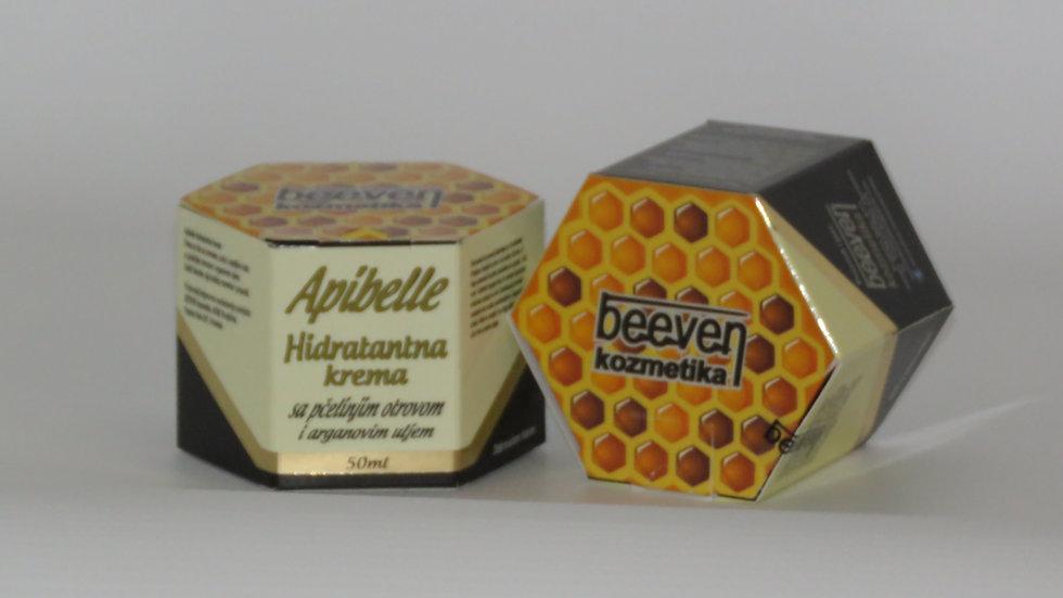 Apibelle hidratantna krema s pčelinjim otrovom i arganovim uljem