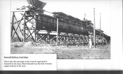 14 Emerald Railway Coal Stage