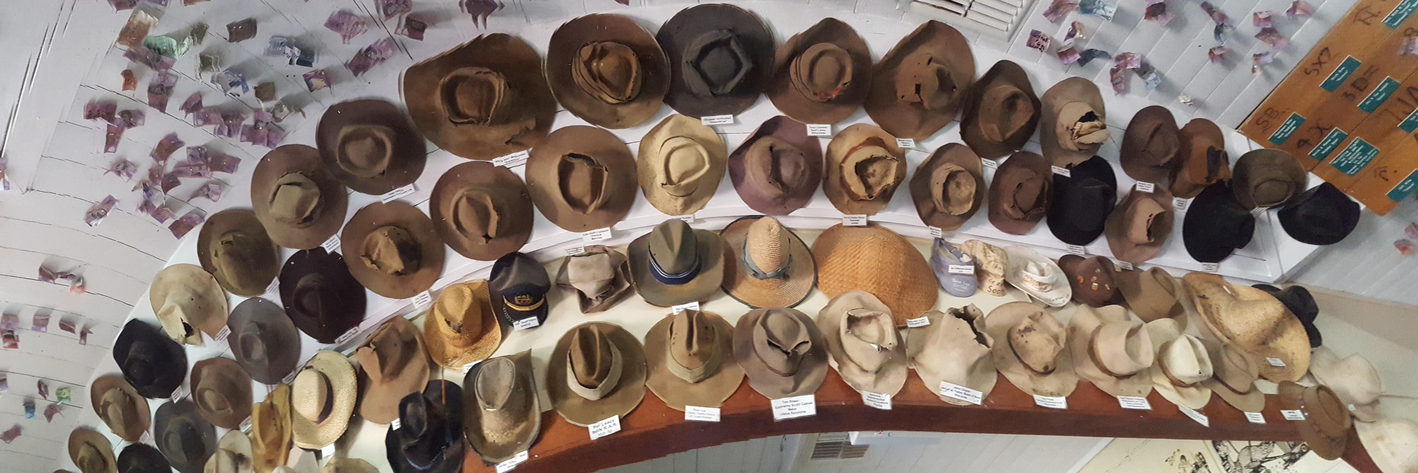 I Left My Hat & 5 Bucks in an Aussie