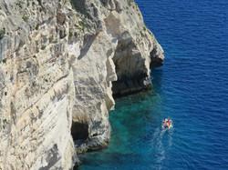 Big Cliffs, Tiny Boat