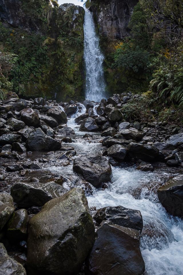 Dawson Falls, Mt Taranaki