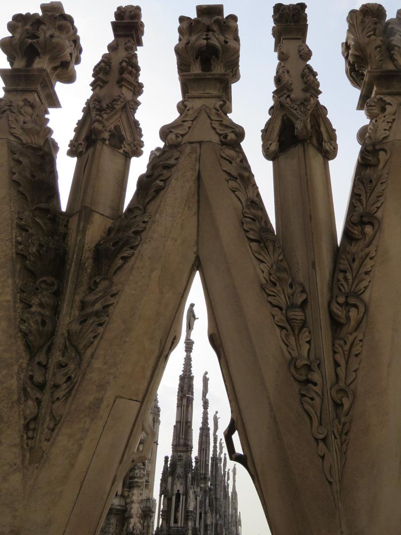 Framed Duomo Steeples