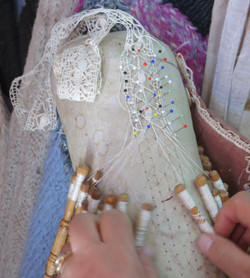 Making Maltese Lace