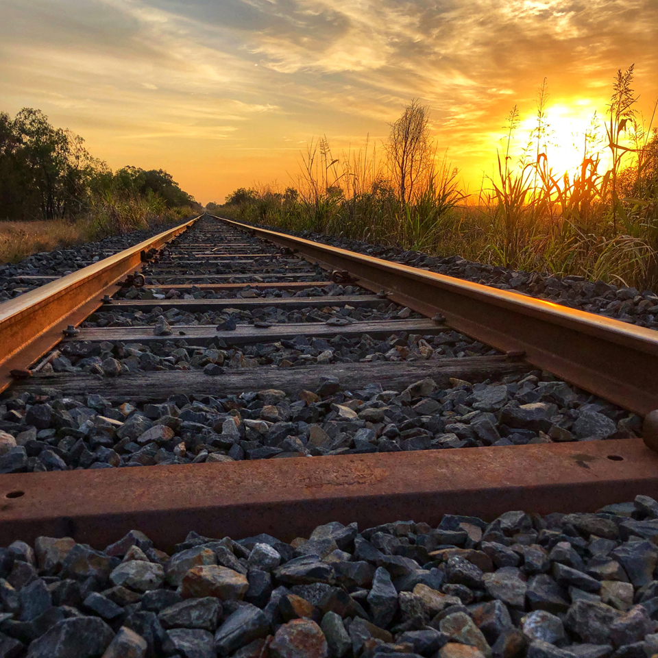 Sunrise on the Tracks