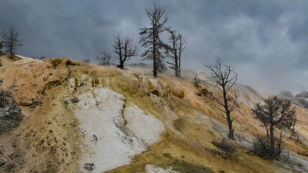 Yellowstone Moonscape