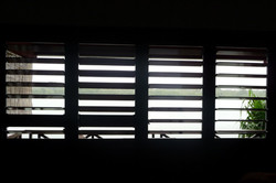 View through the Louvres
