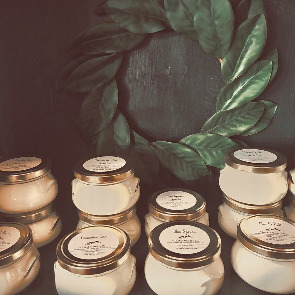Collection of soy candles
