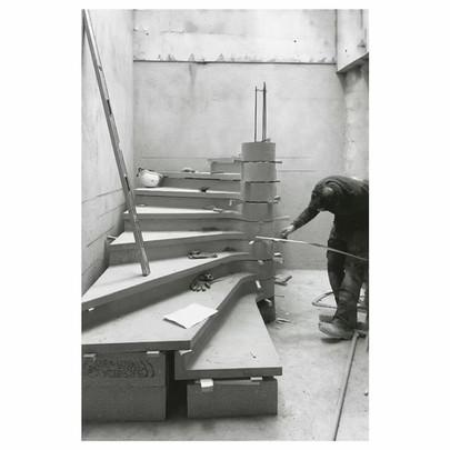 Chantier Malesherbes : Escalier