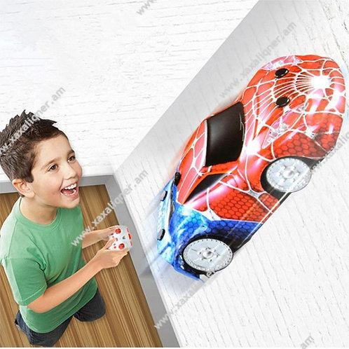"""Պատի վրայով գնացող մեքենա Սարդ Մարդ """"Spider Man"""""""