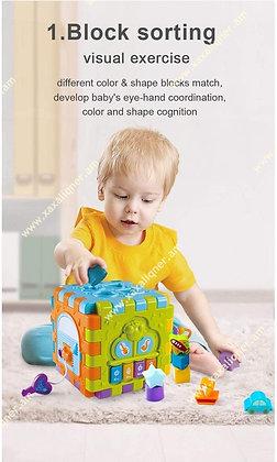 Ուսուցողական, տրամաբանական, զարգացնող խորանարդ