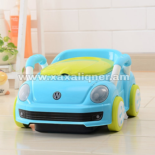 Մանկական գիշերանոթ գլորվող մեքենա