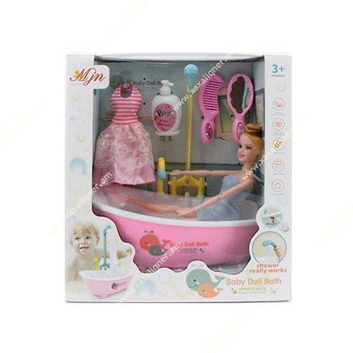 """Մանկական լոգարան տիկնիկով """"ванна"""""""