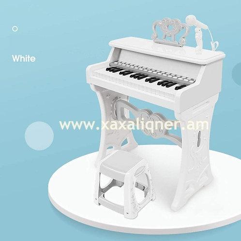 """Մանկական դաշնամուր բարձրախոսով և աթոռիկով """"Piano"""""""