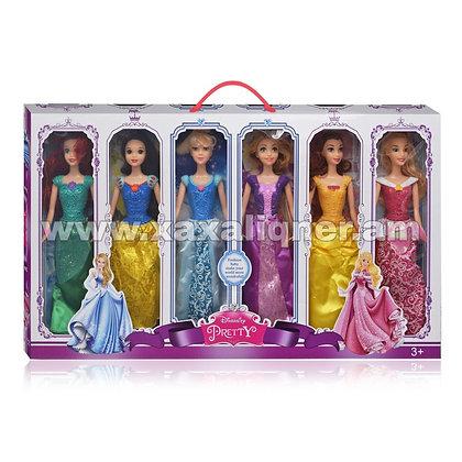 Disney 6 տիկնիկների հավաքածու
