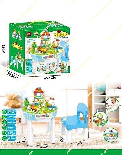 Լեգոյի սեղան աթոռիկով
