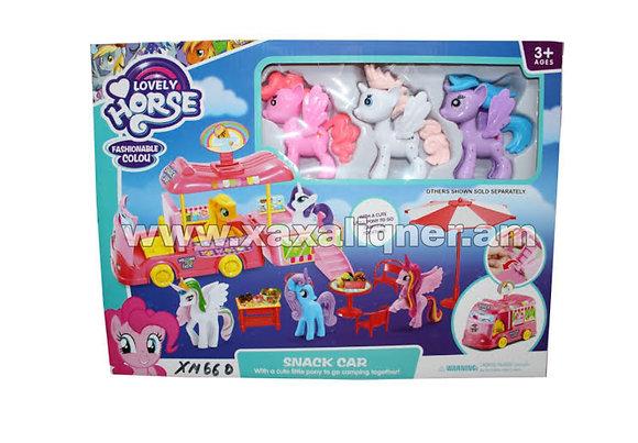 """Ավտոբուս միաեղջյուրով """"Little Pony"""""""