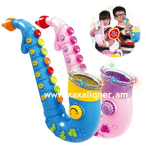 """Մանկական երաժշտական գործիք սաքսոֆոն """"саксофон"""" """"saxophone"""""""
