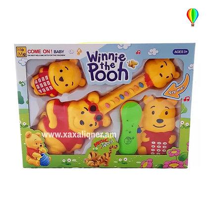 Երաժշտական հավաքածու Winnie Pooh