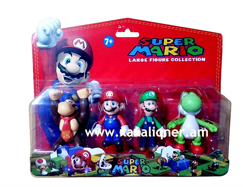 """Մարիո հերոսների հավաքածու """"Mario"""""""