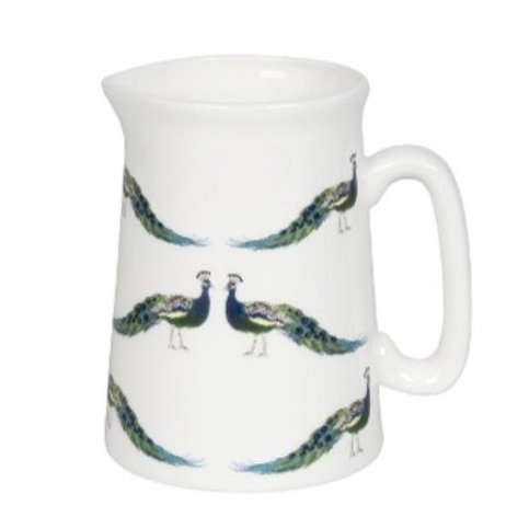 Peacocks  Pitcher Small