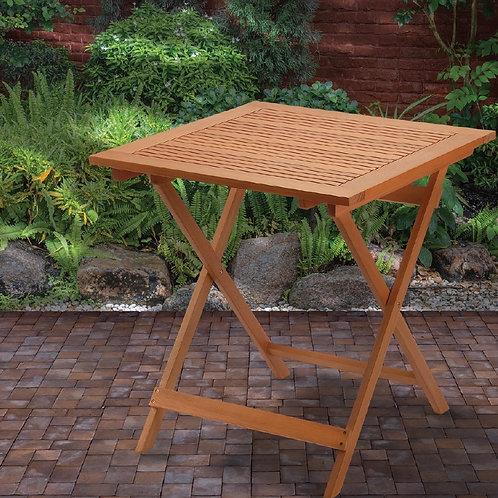 FSC Eucalyptus Grandis Wood Folding Table