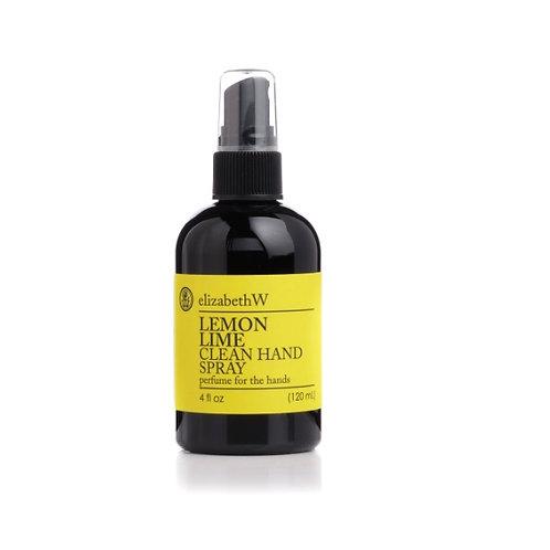 Lemon Lime Clean Hand Spray 4 oz