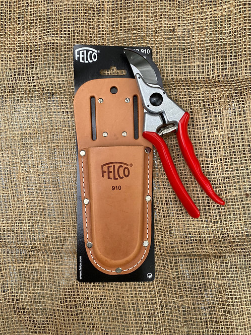 Felco F-910 Leather Holster For Pruning Shears