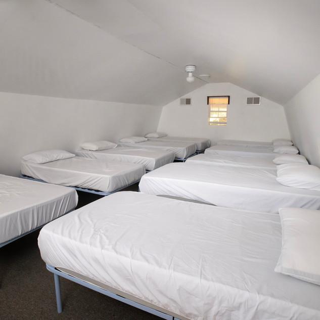 Upstairs Loft Beds
