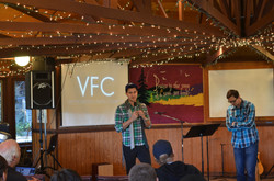 Mens at Victory Faith Church, Oregon