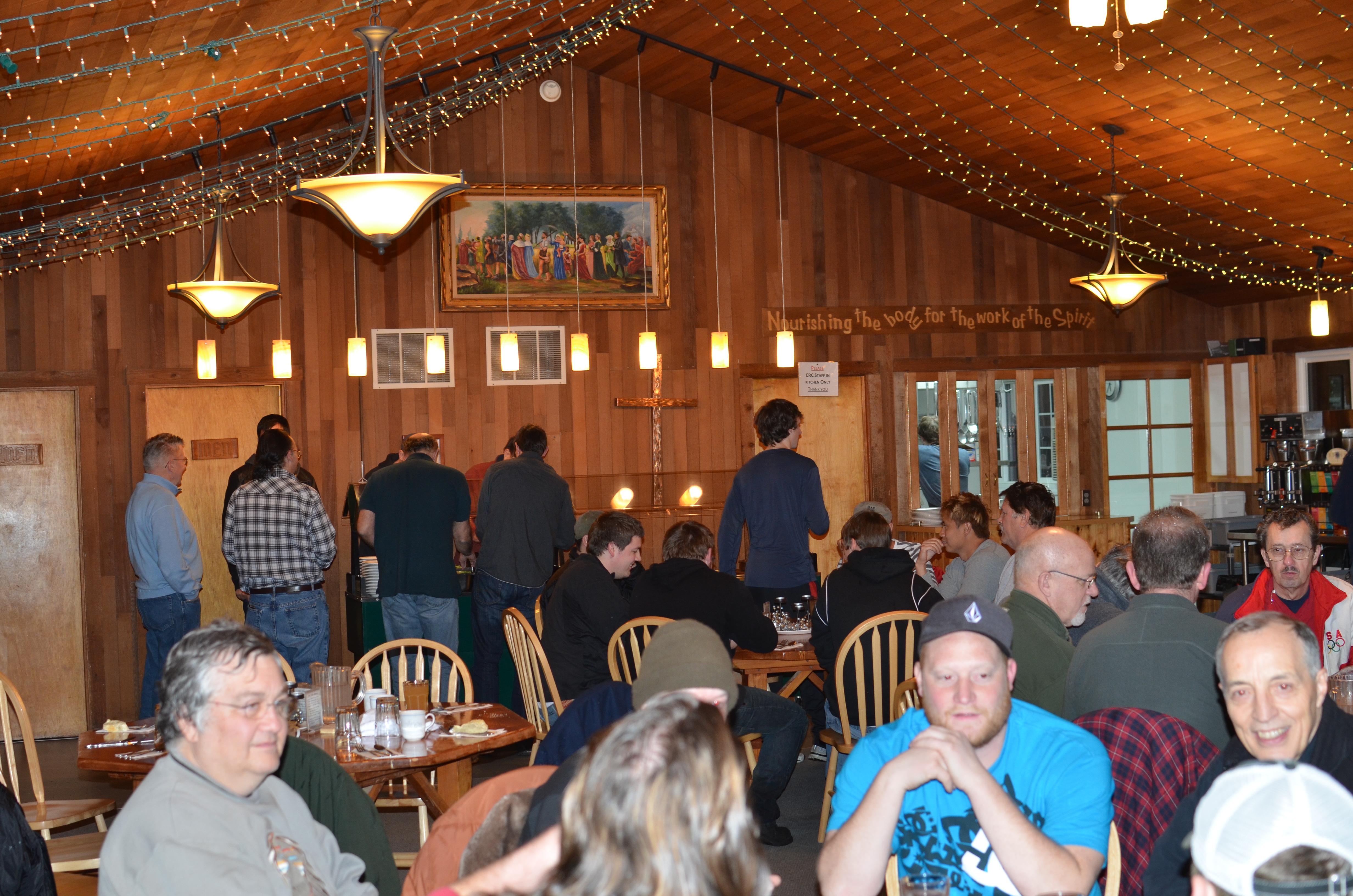 Mens at Victory Faith Church, Oregon