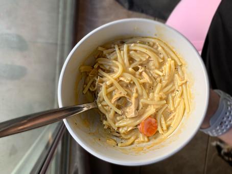 Comfort Food Chicken Noodle