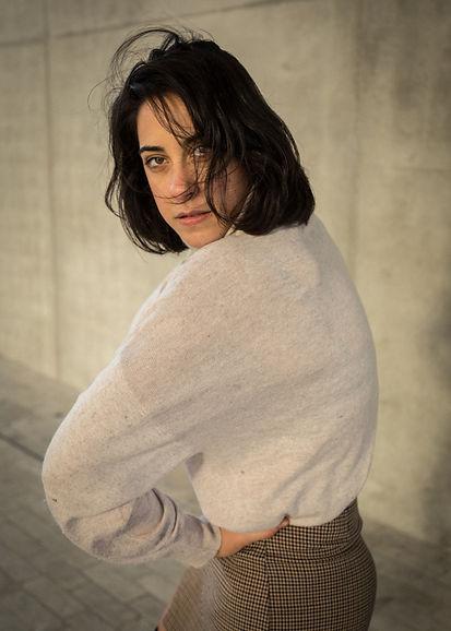 Artsy model; Clotilde Sebg
