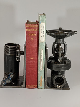 Water valve bookends