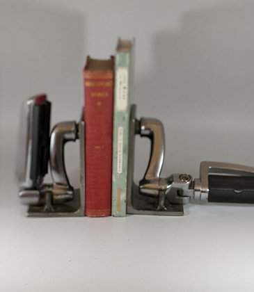 Bicycle pedal bookends